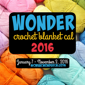 Wonder Crochet Blanket CAL Square