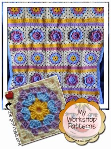 Granny Flower Blanket