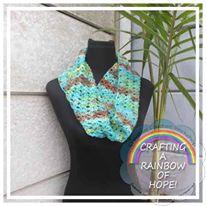 Infinity Scarf free crochet pattern