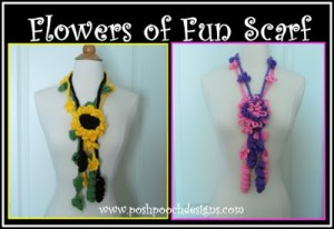 Flowers of Fun Scarf
