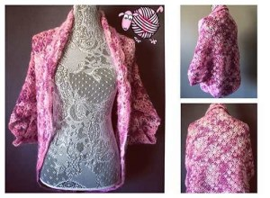 Lacy Shell Sweater Shrug