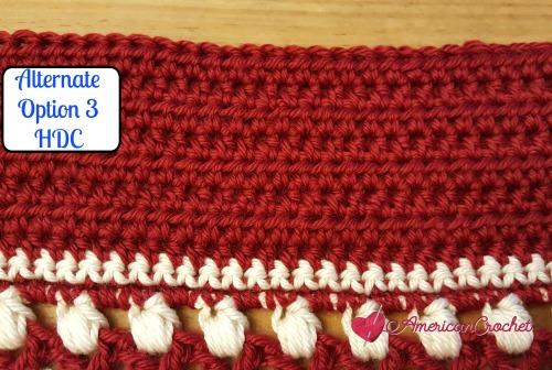 Alternate Sections Wonder Crochet Blanket 2016 CAL