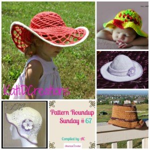 Pattern Roundup Sunday Crochet Sun Hats
