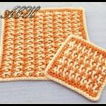 Citrus Washcloth and coaster