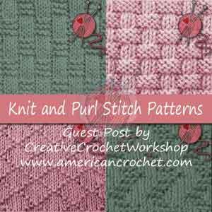 A Knitting Journey ~ Knit & Purl Stitches