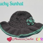 Slouchy Sunhat free crochet pattern