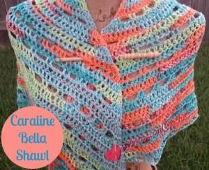 Caraline Bella Shawl free crochet pattern