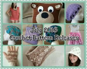 2016 July Crochet Pattern Releases
