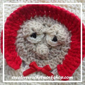 Little Red Riding Hood | Free Crochet Pattern | American Crochet @americancrochet.com @creativecrochetworkshop.com #freecrochetpattern #contributorpost