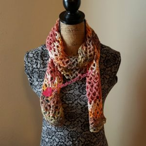 Stained Diamonds Scarf | Crochet Pattern | American Crochet @americancrochet.com #crochetpattern