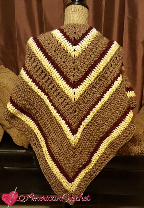 Fall Shawl MCAL 2016 ~ Getting Caught Up