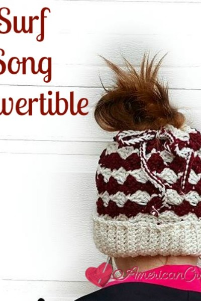 Surf Song Convertible free crochet pattern