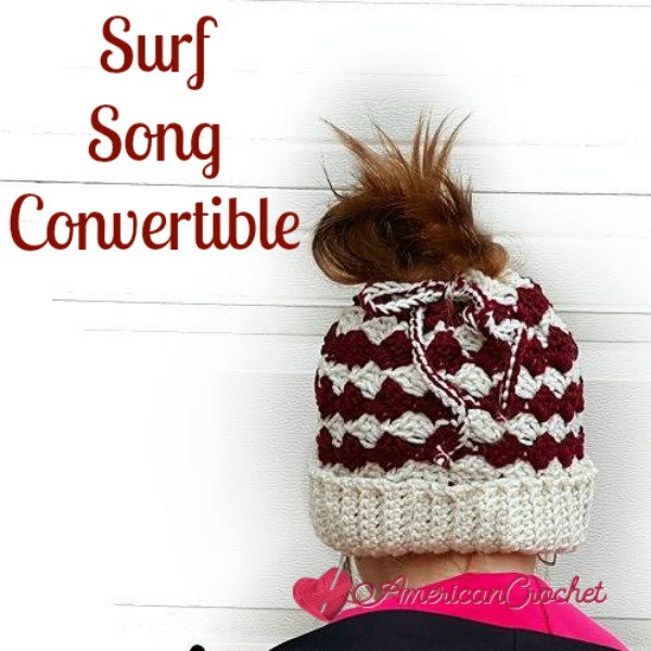 Surf Song Convertible | Free Crochet Pattern | American Crochet @americancrochet.com #freecrochetpattern