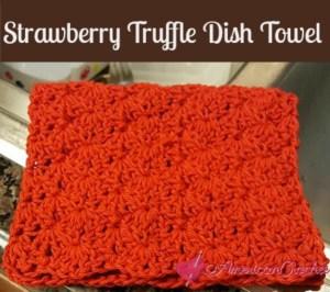 Strawberry Truffel Dish Towel