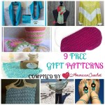 9 Free Gift Patterns free crochet pattern roundup