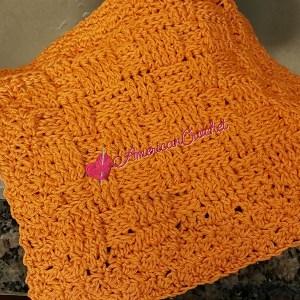 Basket Weave Dishcloth | Free Crochet Pattern | American Crochet @americancrochet.com #freecrochetpattern