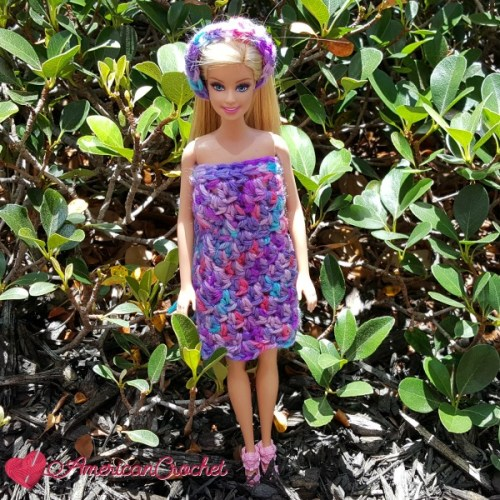 Bubble Berries Barbie Dress