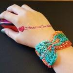 Butterfly Bracelet free crochet pattern
