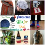 8 Awesome Gifts for Dad free crochet pattern roundup