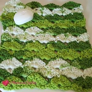 Apple Juicy Washcloth ~ Free Crochet Pattern