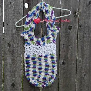 Bell's Bag | Free Crochet Pattern | American Crochet @americancrochet.com #freecrochetpattern