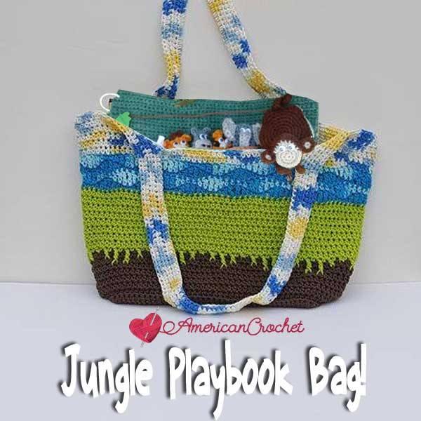 Jungle Playbook Bag!