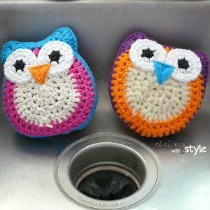 7 Fun Kitchen Scrubbies