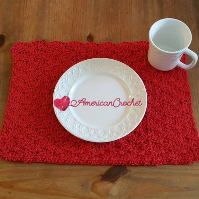 Picnic Placemat ~ Free Crochet Pattern