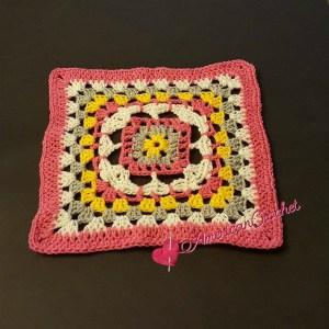 Rhapsody Flower Granny Square ~ Free Crochet Pattern