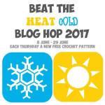 Beat The Heat Cold Blog Hop free crochet patterns