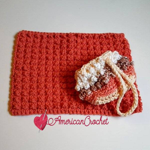 Berry Me Spa Set ~ Free Crochet Pattern