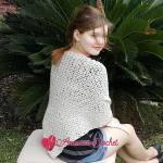 Vintage Linen Shaw free crochet pattern