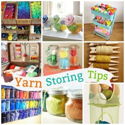Yarn Storing Tips