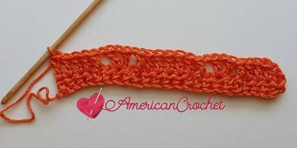 Sunseeker Summery Scarf | Free Crochet Pattern American Crochet #freecrochetpattern