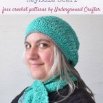 In-the-Neighborhood-Slouchy-Hat-and-Keyhole-Scarf-free-crochet-patterns-by-Underground-Crafter free crochet pattern