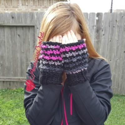 Raspberry Coffee Mitts