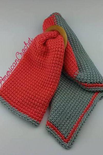 Tunisian Hugs Lovey free crochet pattern