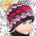 My Dolly Everyday Kisses Messy Bun Hat