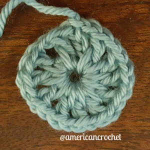 Tiffany Circle in A Square | American Crochet @americancrochet.com