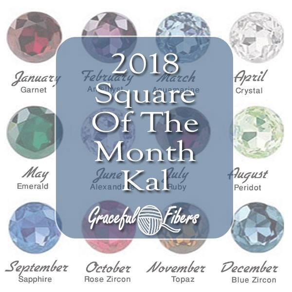 Squaring The Circle KAL 2018 | Free Knit Along | Graceful Fibers @gracefulfibers.com #freeknitalong