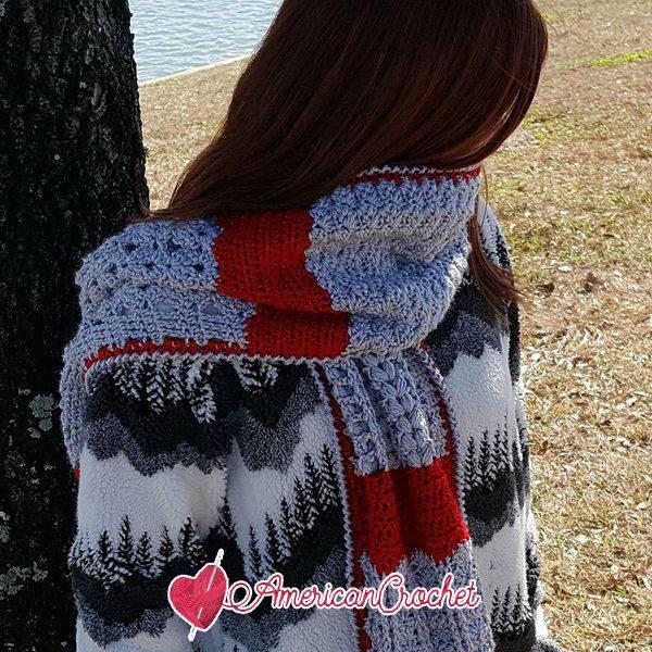 Romancing The Scarf Mystery Stitch CAL | Free Crochet Along | American Crochet @americancrochet.com #freecrochetalong