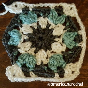Carolyn Circle in A Square | American Crochet @americancrochet.com
