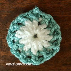 RUBY Circle in A Square | American Crochet @americancrochet.com
