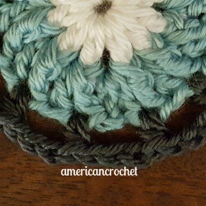 SUE Circle in A Square | American Crochet @americancrochet.com