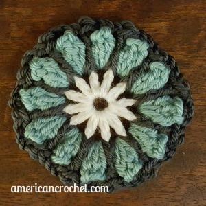 FAITH Circle in A Square | American Crochet @americancrochet.com