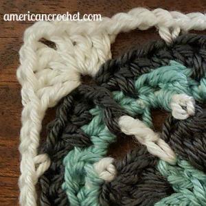 Chloe Circle in A Square | American Crochet @americancrochet.com