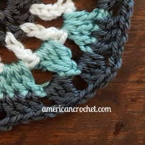 Kailey Circle in A Square | American Crochet @americancrochet.com