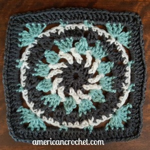 Kailey Circle in A Square | American Crochet @americancrochet.com