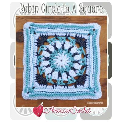 Robin Circle in A Square
