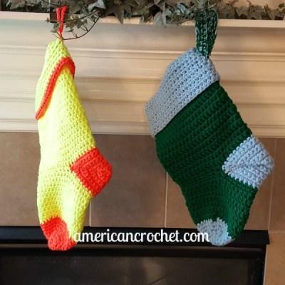 Simply Christmas Stocking